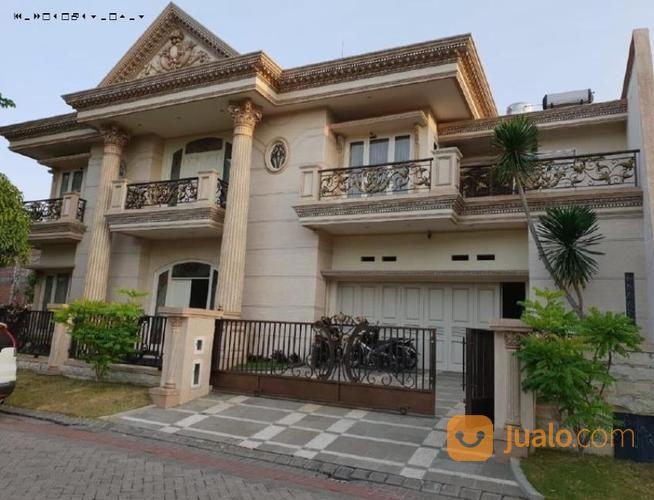 rumah premium besar dan nyaman cluster san antonio, pakuwon city, surabaya