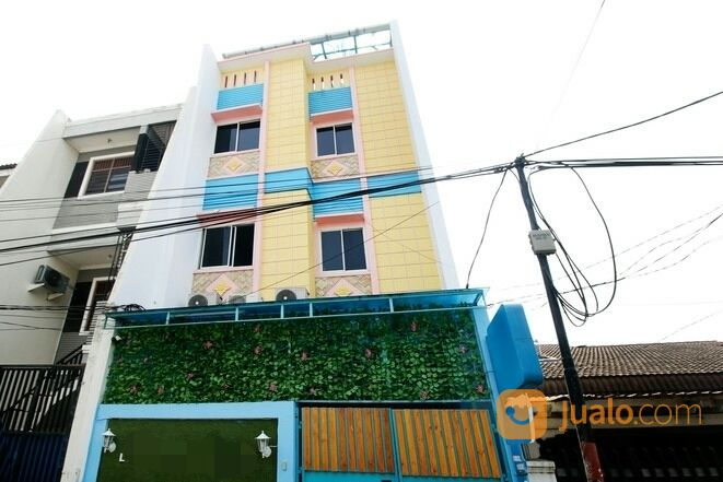 rumah di grogol, rmh kost, 5lt, 35 kt, full furnish, managed by airy rooms, di latumenten