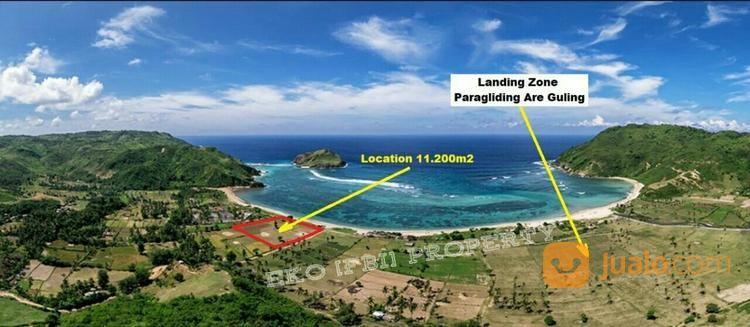 tanah tepi pantai are guling lombok