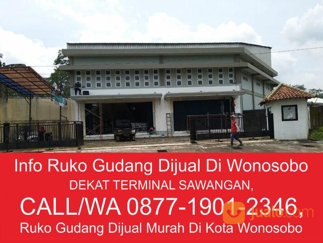 ruko 2 lantai plus gudang strategis siap pakai di kabupaten wonosobo