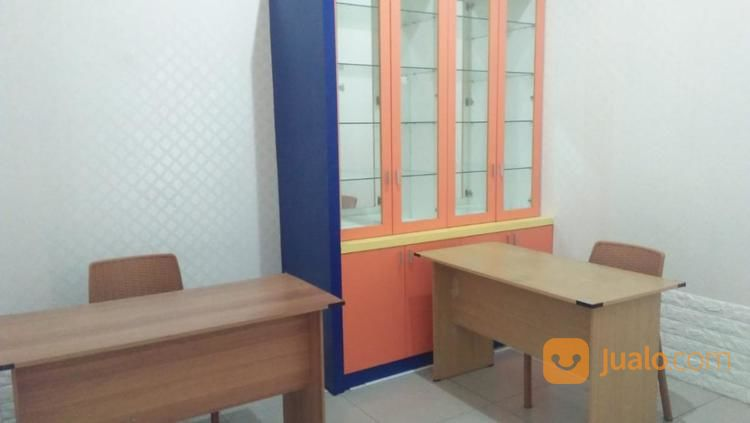 private office space, semi furnished