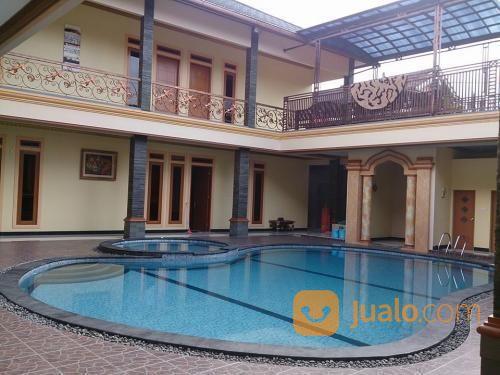 sewa villa arisela di puncak, bogor private pool