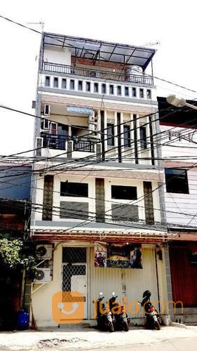 rumah di pademangan, kost 4lt, 10kt, full furnish, lok. strategis di pademangan barat