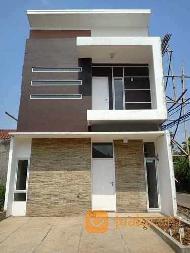rumah tanpa dp dua lantai di depok murah