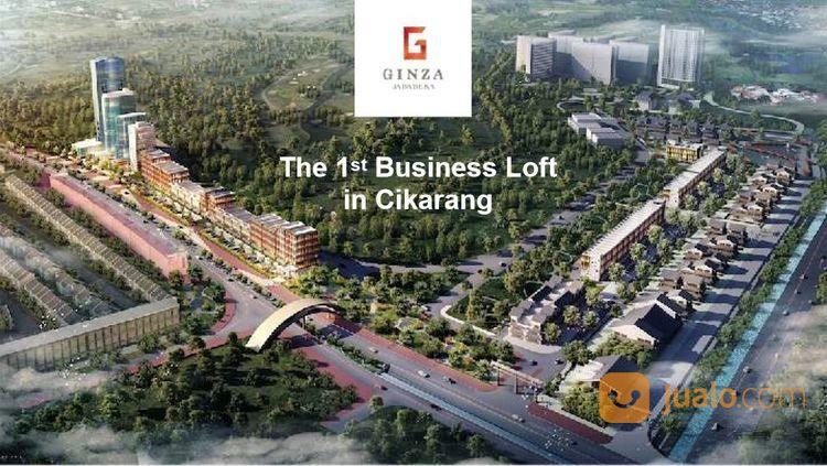 ruang usaha ginza business loft lebar 8 m di jababeka city