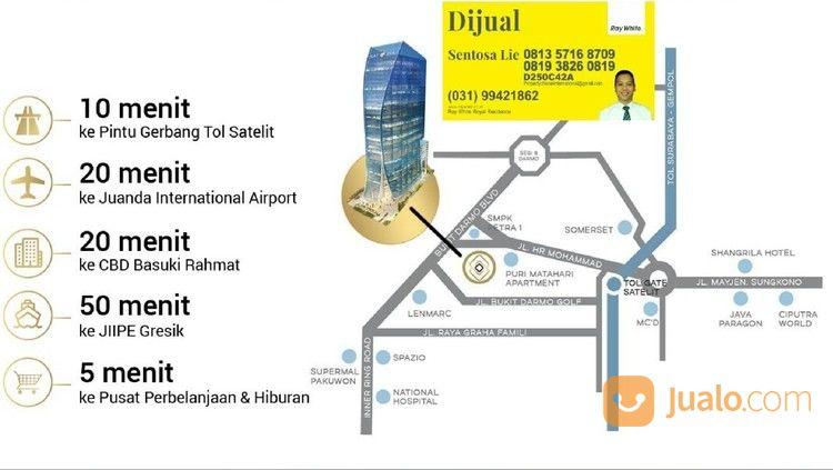 kantor office satoria tower jl.hr muhammad surabaya strategis buka 24 jam