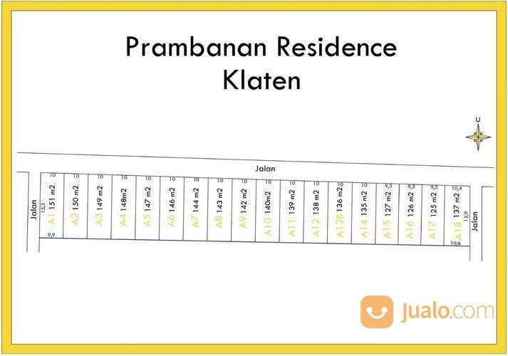 tanah kavlingan murah di wilayah prambanan residence