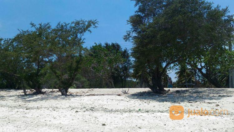 tanah tepi pantai sunset point gili trawangan lombok