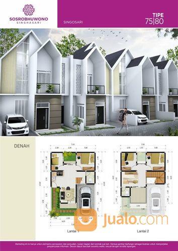 rumah murah dua lantai sosrobuwoni