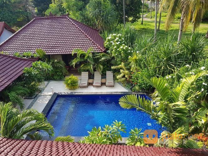 villa dekat pantai gili air lombok