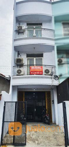 4b5a0c rumah hoki 3,5 lantai bentuk ruko, ngantong , tomang, grogol, jakarta barat