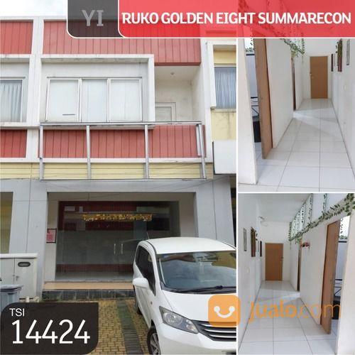 ruko golden eight summarecon, gading serpong, tangerang, 4,5x12m, 2 lt, hgb