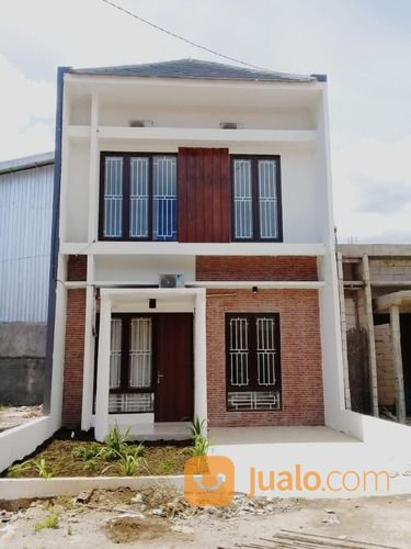 rumah murah minimalis dua lantai