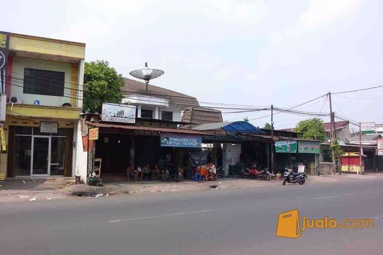 ada tanah lt. 022 m2 shm berhadiah rumah kost dan 5 kios toko jatiwaringin