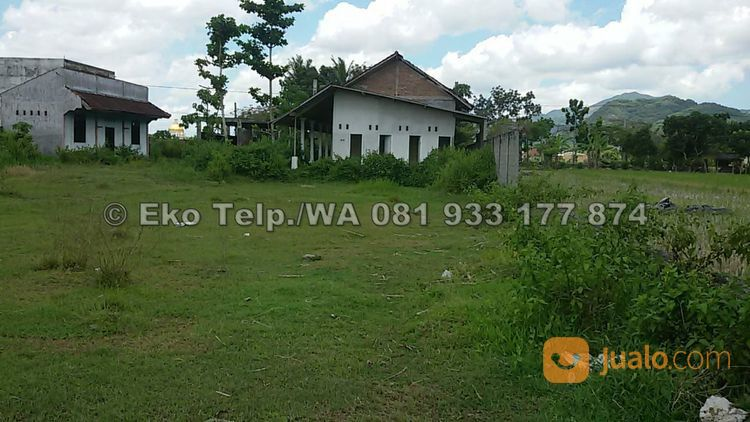 tanah strategis dekat kantor samsat gerung lombok barat
