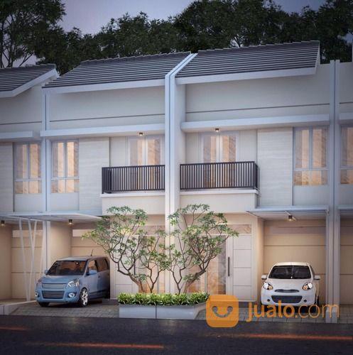 rumah 2 lantai murah dekat pusat grosir cililitan