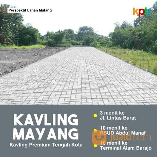 tanah kaveling mayang progres clearing shm pecah unit