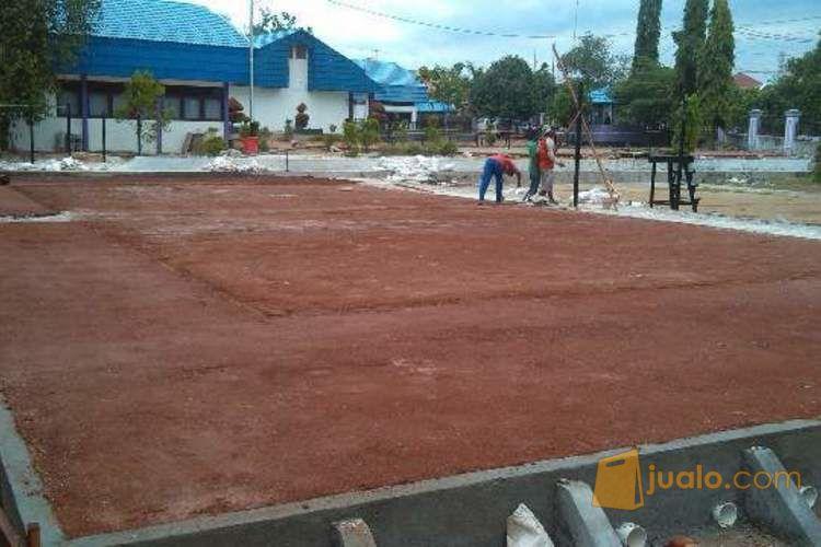 tanah gravel untuk pembuatan lapangan tenis, voly, lintasan atletik murah..
