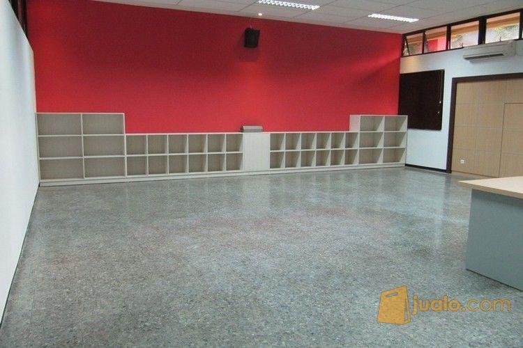 hidden office storage - rak file tanam dinding