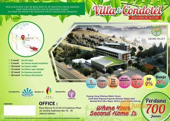condotel & villa di puncak bogor