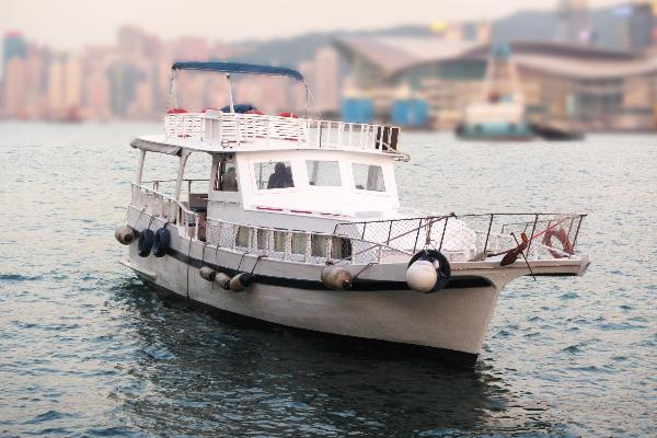 Junk Boat Hong Kong