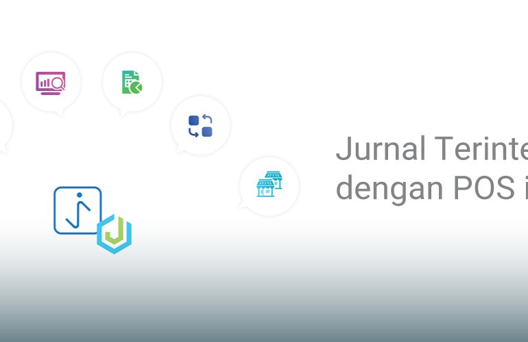 Jurnal Telah Terintegrasi dengan Aplikasi POS iSeller