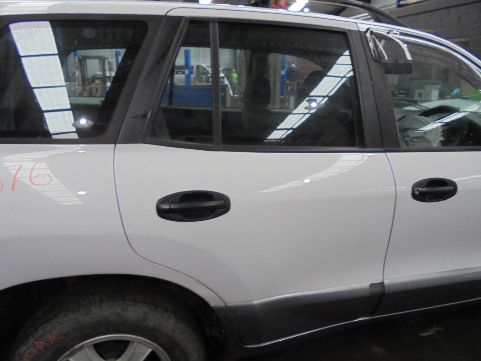 View Auto part Right Rear 1/4 Door Glass Hyundai Santa Fe 2002