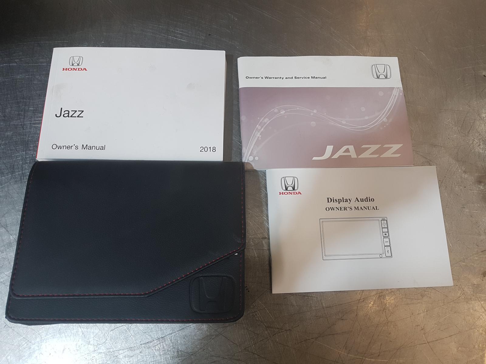 View Auto part Owners Handbook Honda Jazz 2018