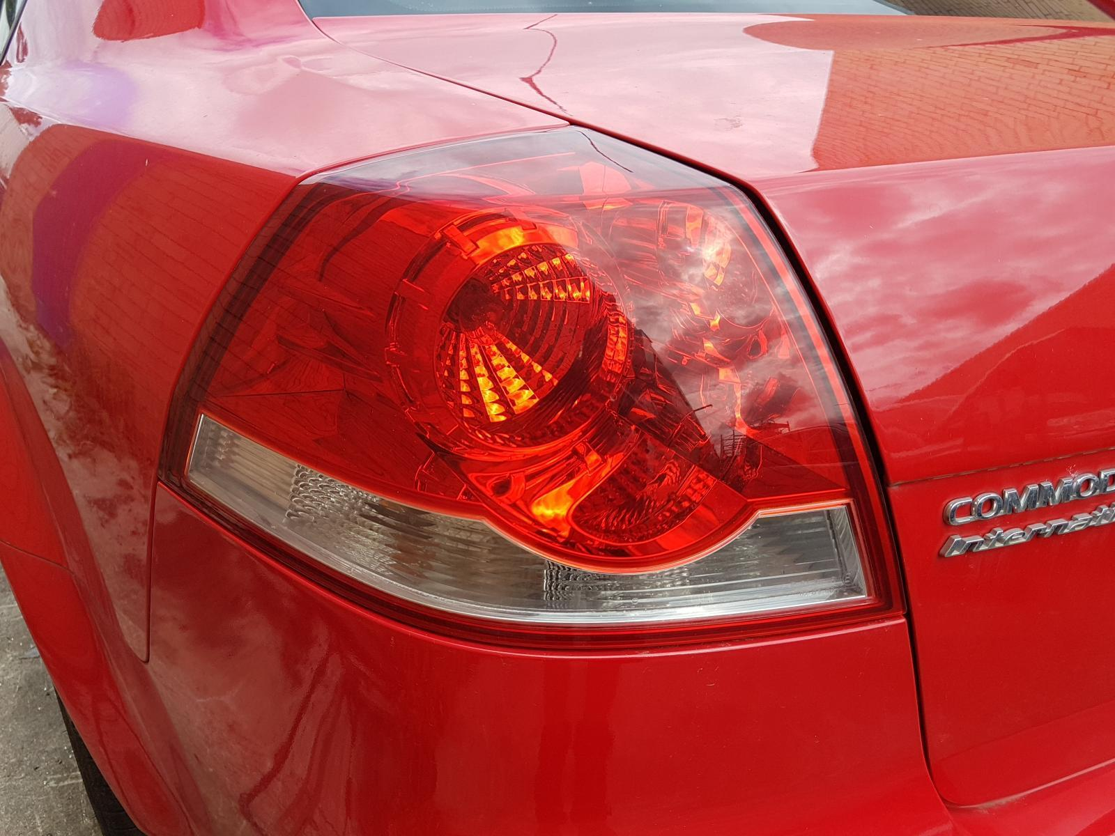 View Auto part Left Taillight Holden Commodore 2010