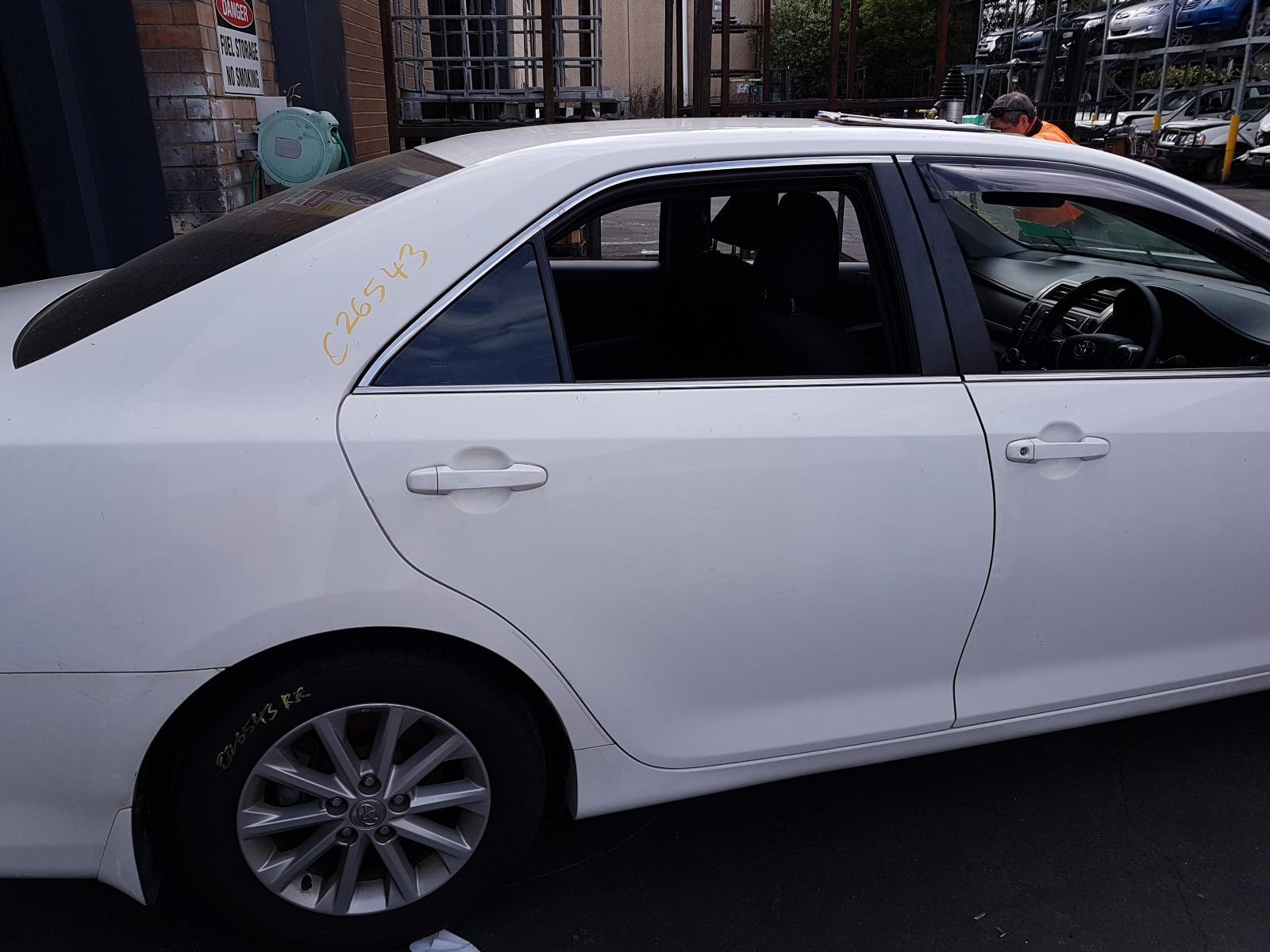 View Auto part Right Rear Door Window Toyota Camry 2012