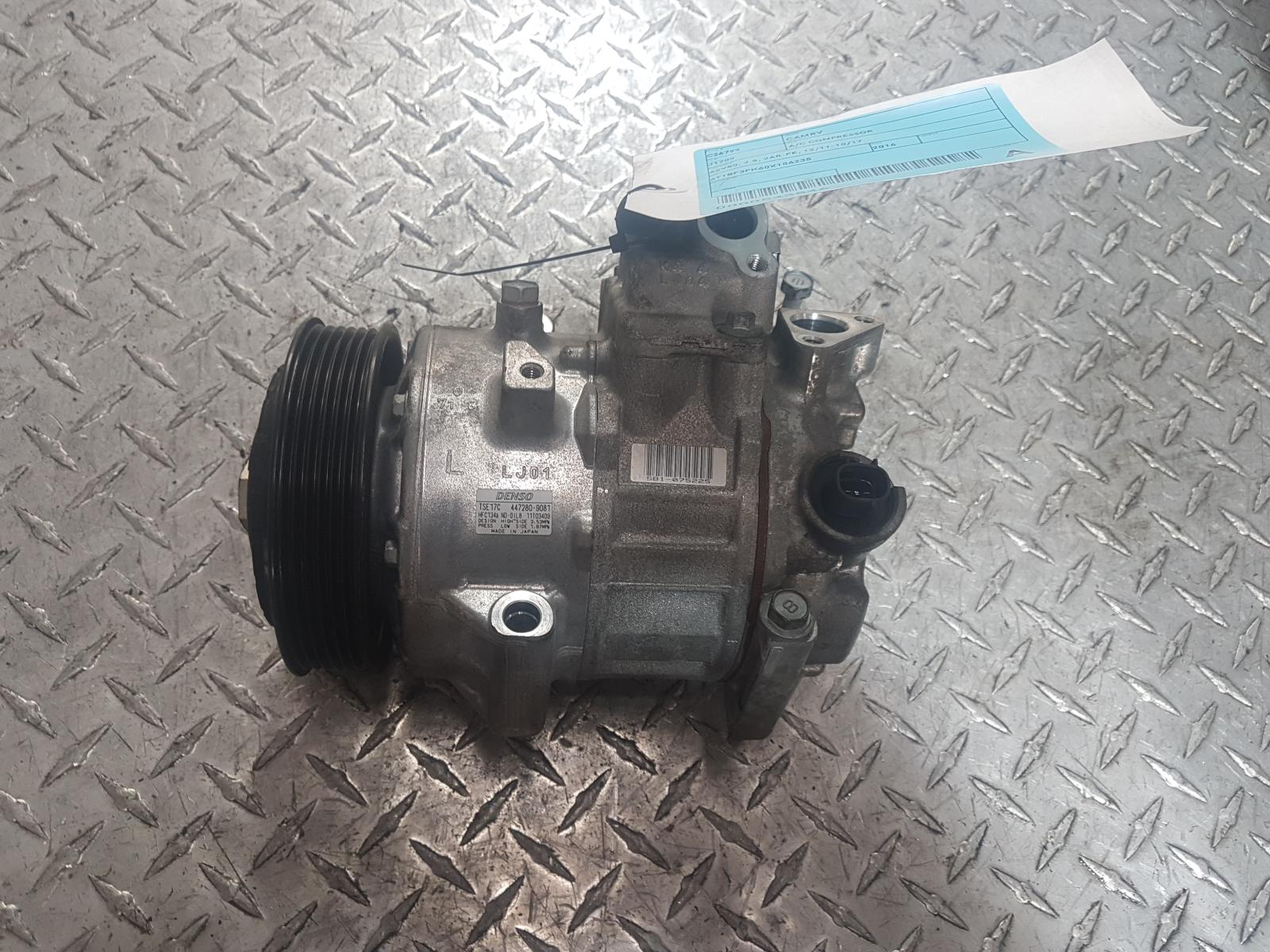 View Auto part A/C Compressor Toyota Camry 2016