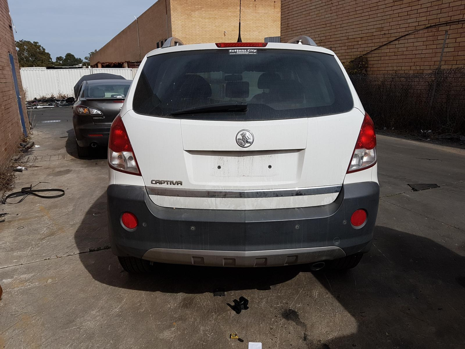 View Auto part Bootlid/Tailgate Holden Captiva 2010