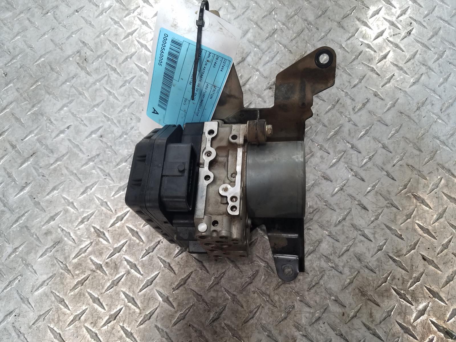 View Auto part Abs Pump/Modulator Mitsubishi Triton 2013