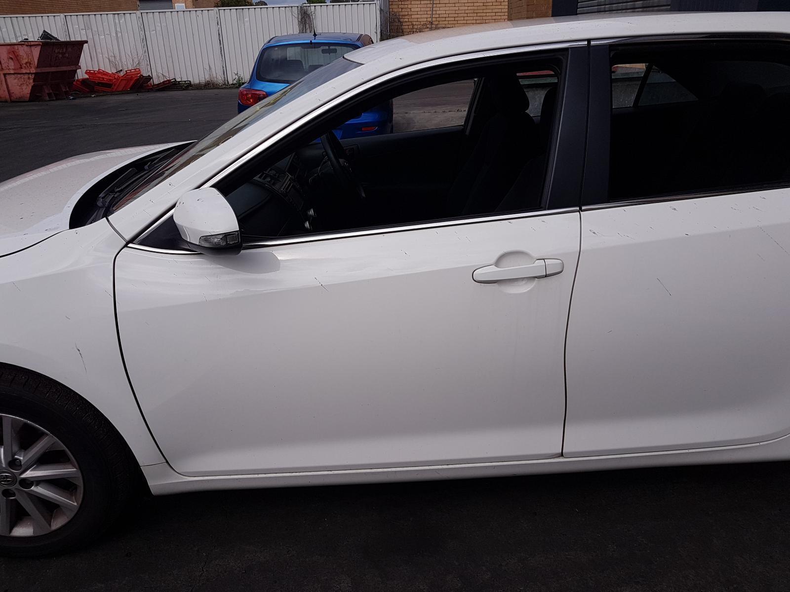 View Auto part Left Front Door Window Toyota Camry 2014