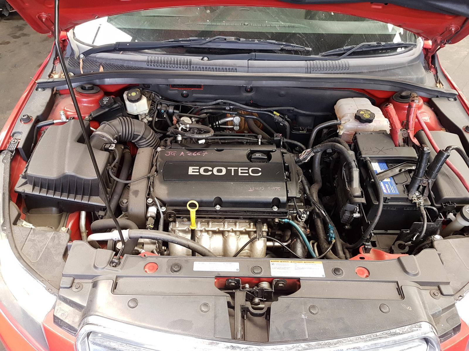 View Auto part Engine Holden Cruze 2009