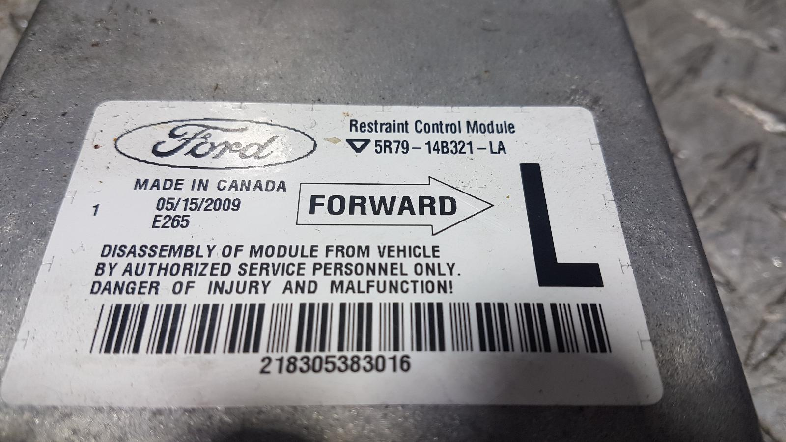View Auto part Airbag Module/Sensor Ford Territory 2010