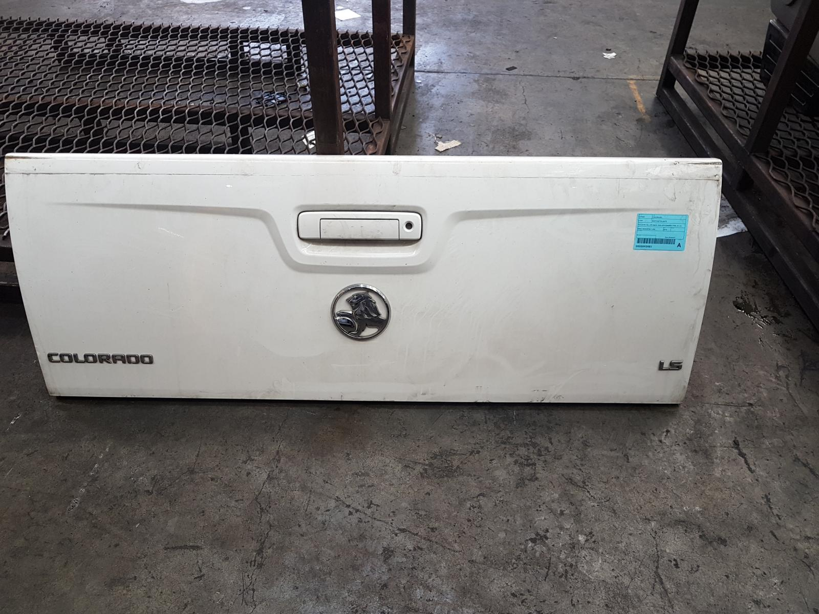 View Auto part Bootlid/Tailgate Holden Colorado 2015