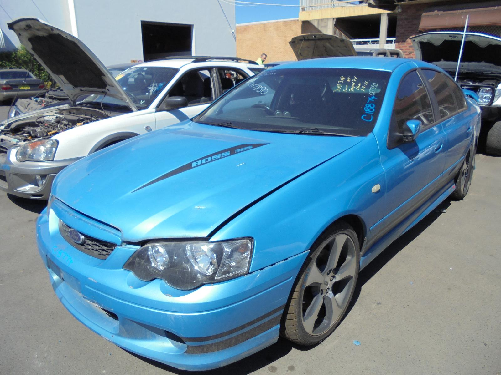 View Auto part Owners Handbook Ford Falcon 2004