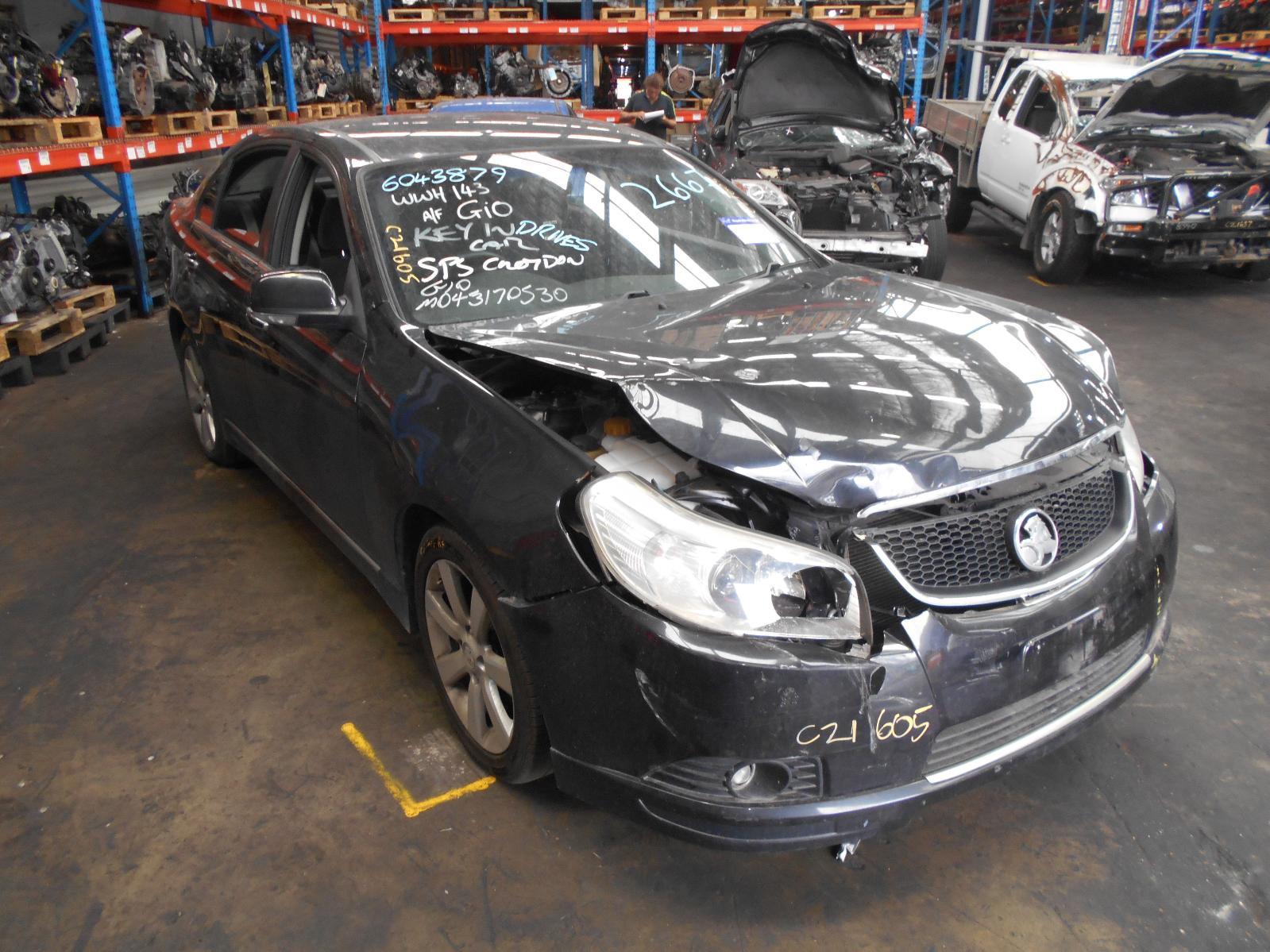 View Auto part Left Rear 1/4 Door Glass Holden Epica 2008