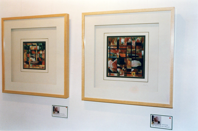 Exh the spectrum of a flower 1996 2