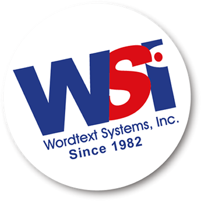 WORDTEXT SYSTEMS, INC.