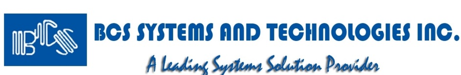 BCS Systems & Technologies, Inc.