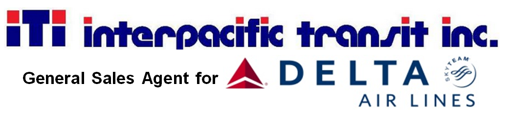 Interpacific Transit Inc. General Sales Agent for Delta Air Lines