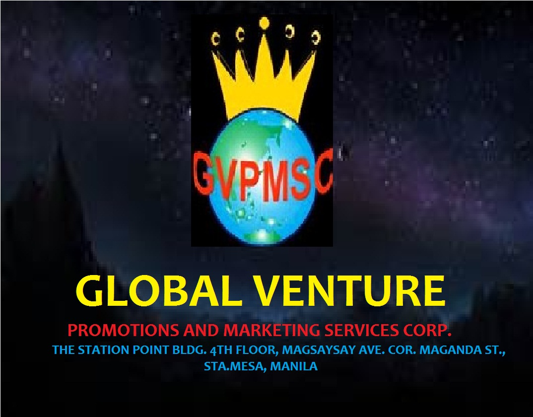 GLOBAL VENTURE PROMOTIONS AND MARKETING SERVICES CORP.