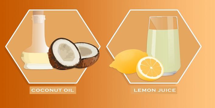 coconut-oil-and-lemon-juice
