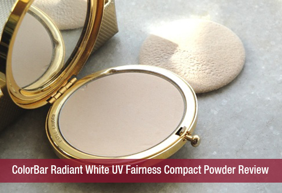 ColorBar Radiant White UV Fairness Compact Powder Review