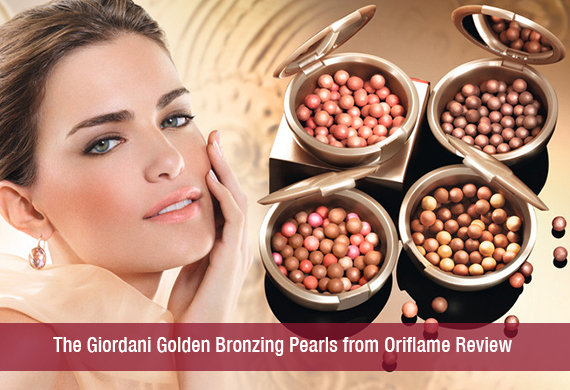 The Giordani Golden Bronzing Pearls from Oriflame Review