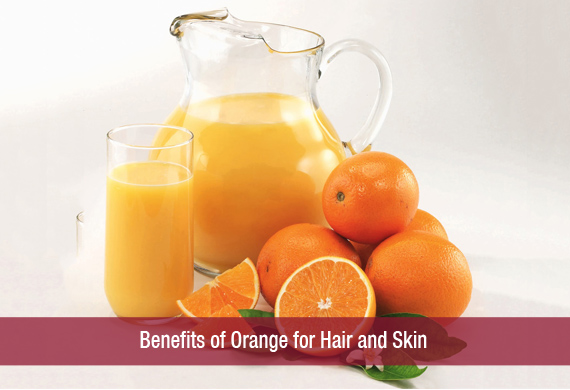 Benefits of Orange for Hair and Skin