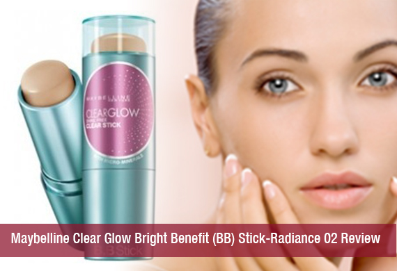Maybelline Clear Glow Bright Benefit (BB) Stick-Radiance 02 Review