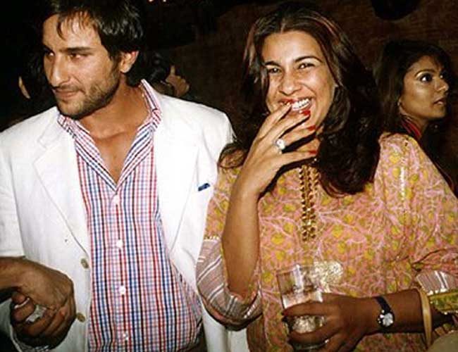 SAIF ALI KHAN AND AMRITA SINGH1